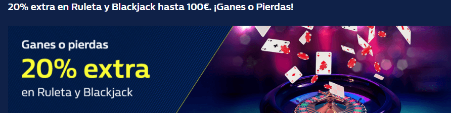 gana 100€ ganes o pierdas con william hill